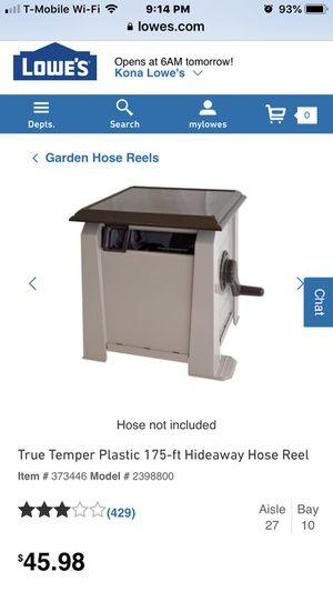 Garden hose box for Sale in Kailua, HI