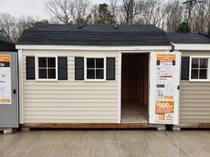 10x12 Solid wood shed w vinyl siding for Sale in Toms River, NJ