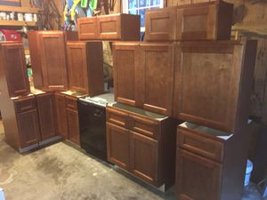 New birch solid wood kitchen cabinets for Sale in Clemmons, NC