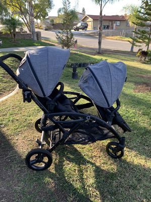 Excellent Condition Contour Elite Double Stroller for Sale in Norco, CA
