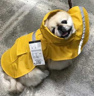 Dogs RainCoat Hoodie Size Small for Sale in Los Angeles, CA