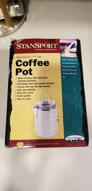 Coffee pot for camping for Sale in Anaheim, CA