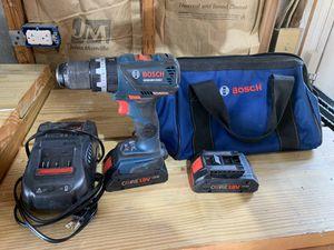 Bosch Hammer Drill/2-Batteries/Charging Station/Bag for Sale in Chesapeake, VA