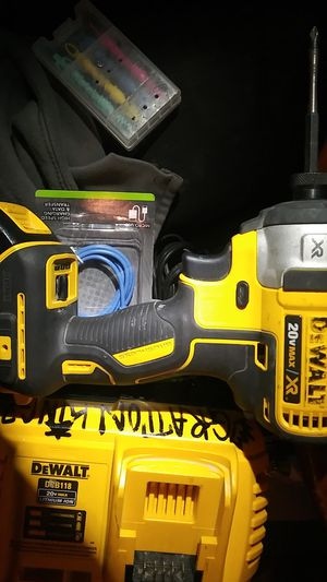 Dewalt 20 v max xr impact drill n charger for Sale in Modesto, CA