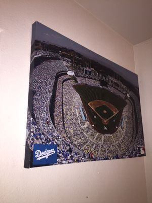 Dodger stadium picture for Sale in ARROWHED FARM, CA