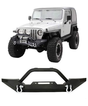 Front Bumper Winch Plate D-Ring Rock Crawler for Sale in Los Angeles, CA