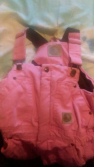 Girls size extra small regular youth 5 6 winter bibs for Sale in Dixon, MO