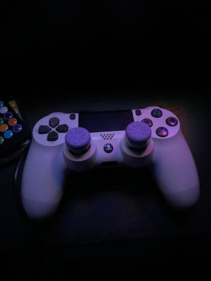 PS4 Dualshock Controller With Grips for Sale in Bloomington, IL