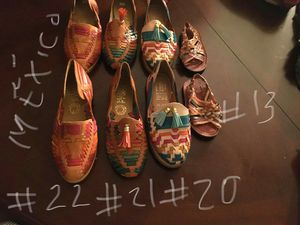 Huaraches mexicanos / mexican shoes sandals for Sale in Covina, CA