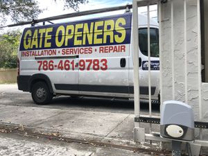 Gate openers, garage doors, fences and more for Sale in Doral, FL