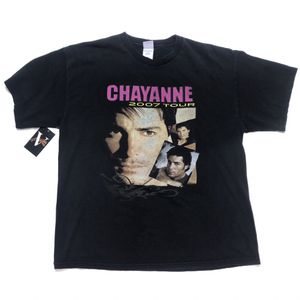 2007 Chayanne US Tour T Shirt Concert Merch Tee Size XL Black for Sale in Tracy, CA