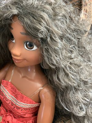 """Disney Princess My Size Moana 32"""" Life Size Barbie Type Doll for Sale in Hanford, CA"""