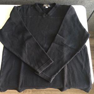 Banana Republic Mens Black Vneck Sweatshirt Adult XL for Sale in Chula Vista, CA