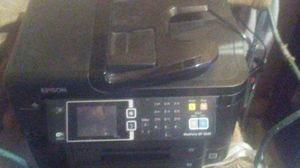 Epson all in one printer w/brand new ink & photo paper for Sale in Apache Junction, AZ
