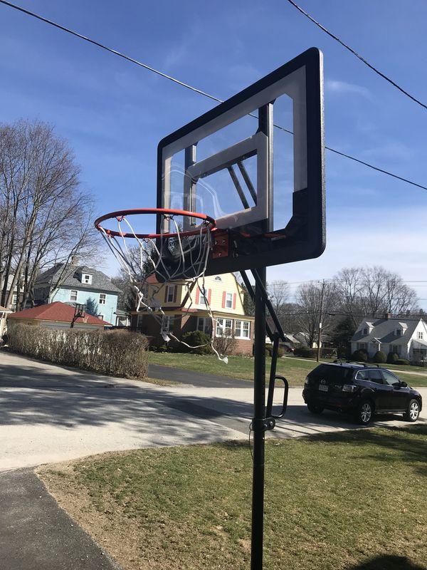 basketball hoop 2 size