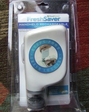 Foodsaver Freshsaver Handheld Rechargeable Vacuum System W/ Charger for Sale in Las Vegas, NV