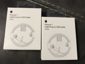 Lightning Charger Cables for Sale in Lynchburg, VA