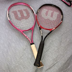 Wilson tennis rackets for Sale in Fresno, CA