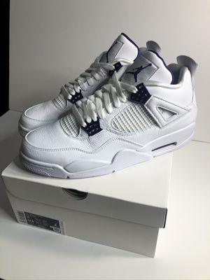 Nike air Jordan 4 metallic purple size 11 brand new for Sale in Bellevue, WA