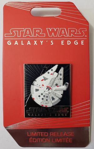 Disney Star Wars Galaxys Edge Millennium Falcon Pin Limited Release for Sale in Glendale, CA