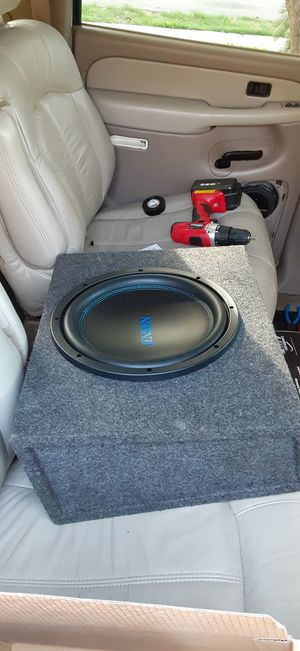 Brand new 1200watt 12in subwoofer with box for Sale in Houston, TX