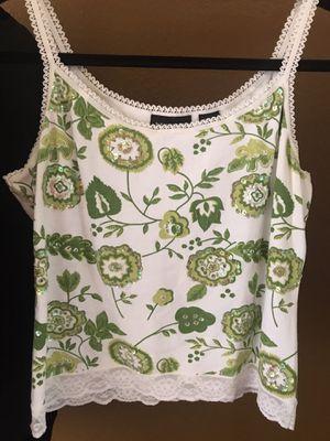 Green/White Top for Sale in Clovis, CA