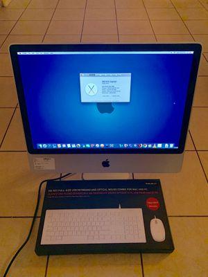 24-inch Apple iMac All-in-One Desktop Computer / 2009 / A1225 / 4GB RAM / 640GB Hard Drive / for Sale in Las Vegas, NV
