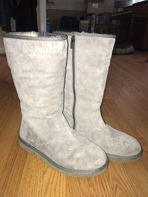 Ugg boots tall w/ inside zipper for Sale in Fairfax, VA