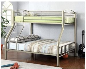 Pyramid Bunk Bed Set with Mattresses for Sale in Silver Spring, MD