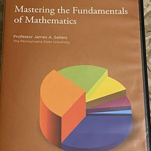 Mastering The Fundamentals Of Mathematics Cd Set for Sale in Jersey City, NJ