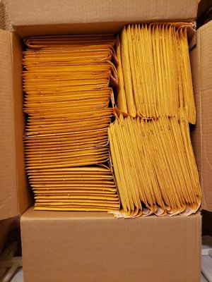 "Uline Self-Seal Gold Bubble Mailers #0 - 6 x 10"" for Sale in Auburn, WA"