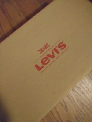 Brand New Levi's size 9/5 all black with red lining.. for Sale in Decatur, GA