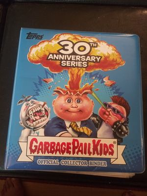 GPK Topps Folder With 351 Original Cards for Sale in Montgomery Village, MD
