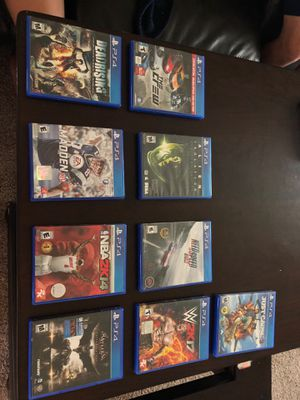 PS4 Video Games for Sale in Waynesville, MO