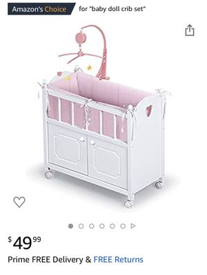 Bassinet for dolls for Sale in Huntington Beach, CA