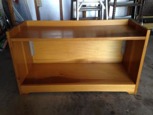 Nice solid wood bookshelves(2 of them) for Sale in Springfield, OH