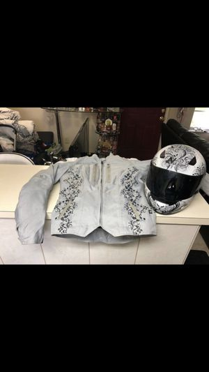 Motorcycle Jacket and Helmet for Sale in Tampa, FL