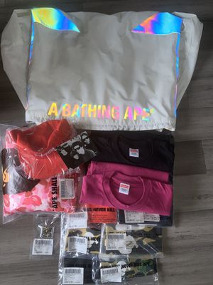 Supreme/Bape Pack (Large) for Sale in Federal Way, WA