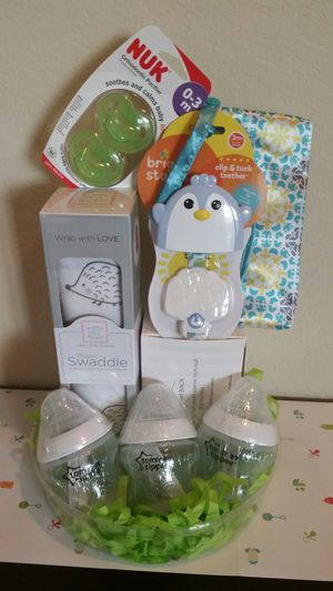 Baby Bundle/ Baby stuff Set/ Baby Shower Gift for Sale in Katy, TX