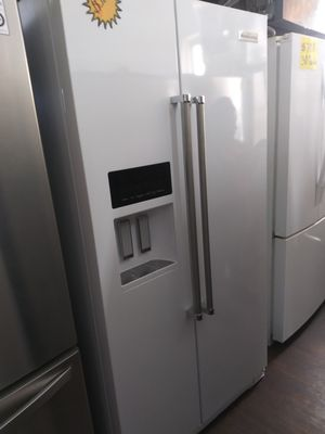 New Kitchen Aid 2 Sided White Refrigerator for Sale in Chino Hills, CA