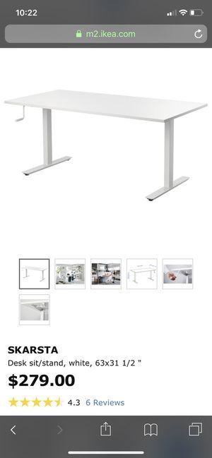 Skarsta - IKEA sit/stand desk for Sale in Miami, FL