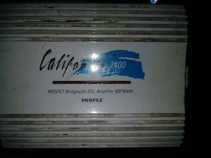 2 amps for Sale in Saginaw, MI