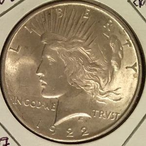 1922 Silver Peace Dollar for Sale in Fort Meade, MD