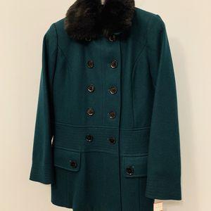 Espirit Double Breast, Fur Lined Wool Coat, Size: Medium for Sale in Alexandria, VA