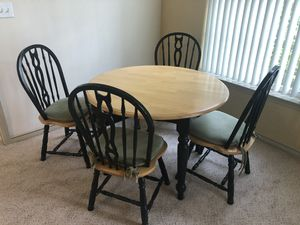 Hardwood Kitchen Table... for Sale in Odenton, MD