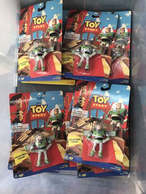 Lot of 9 vintage Toy Story Buzz Lightyear Small PVC Figures for Sale in Santa Ana, CA