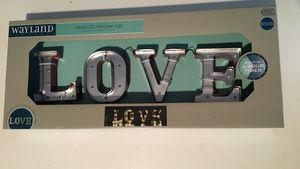 LOVE LED marquee sign for Sale in Hyattsville, MD