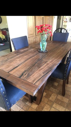 Walnut Modern Farmhouse Dinner Table for Sale in Livermore, CA
