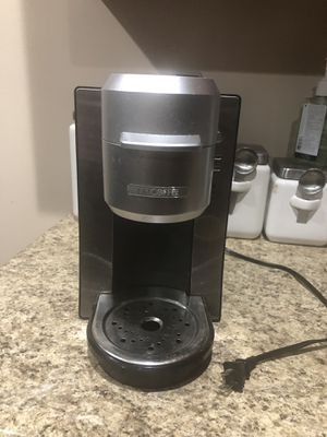 Mr. Coffee K-cup machine single cup coffee maker for Sale in Yonkers, NY
