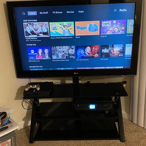 "LG 55"" Inch TV w/ TV Stand for Sale in District Heights, MD"